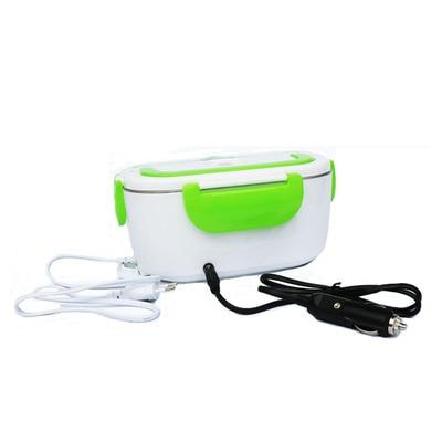Electric Lunch Box with Spoon With Food Heater - UK Merchants