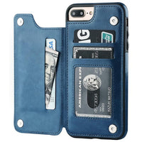 Retro PU Leather Case For iPhone - UK Merchants