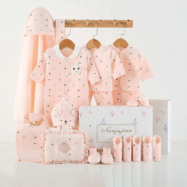 16-24 Pieces/ (0-3 Months) Newborn Baby Clothing Set - UK Merchants