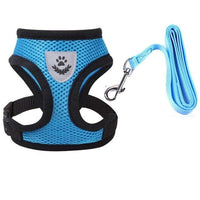 Breathable Pet Vest Harness and Leash - UK Merchants