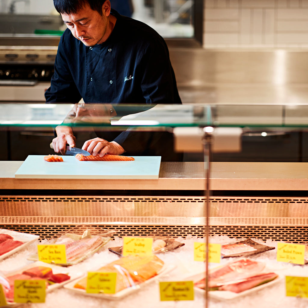 The Kitchen >> Fish & Meat Counter