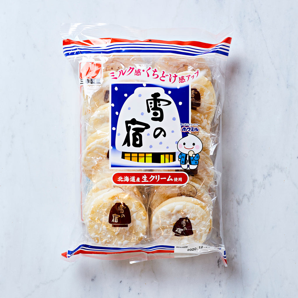Sanko Seika Yuki No Yado Rice Crackers, 160 g