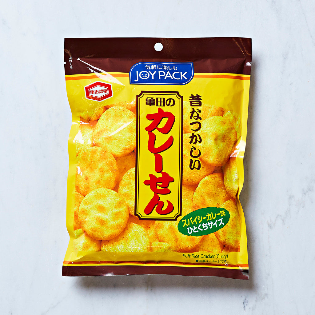 Kameda Seika Spicy Curry Rice Crackers, 52 G