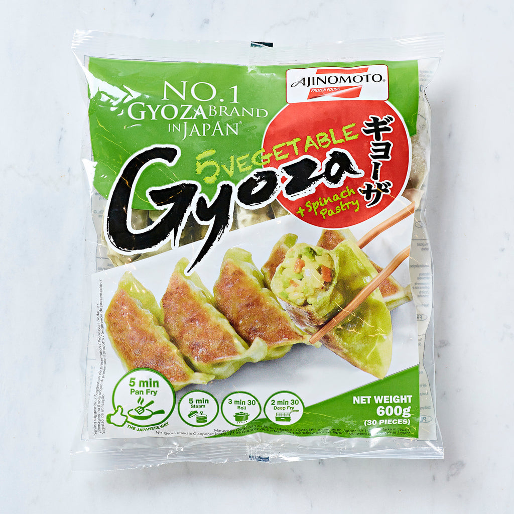 Ajinomoto Vegetable Gyoza With Spinach Pastry, 600 G