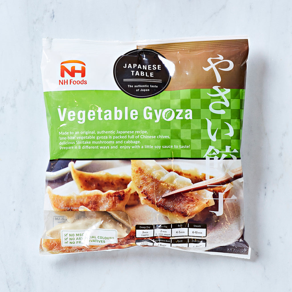 NH FOODS VEGETABLE GYOZA, 600 G
