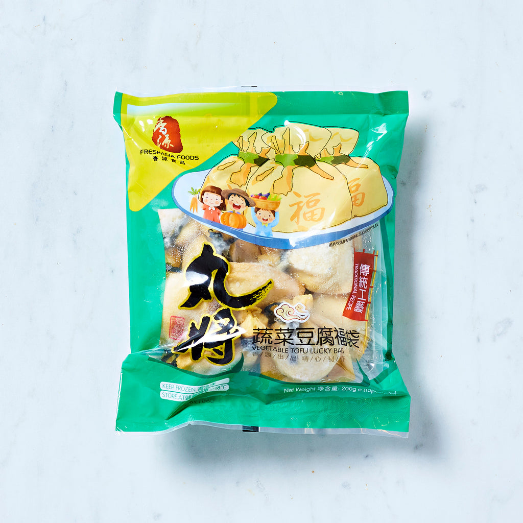 Freshasia Vegetable Tofu Lucky Bag, 200G