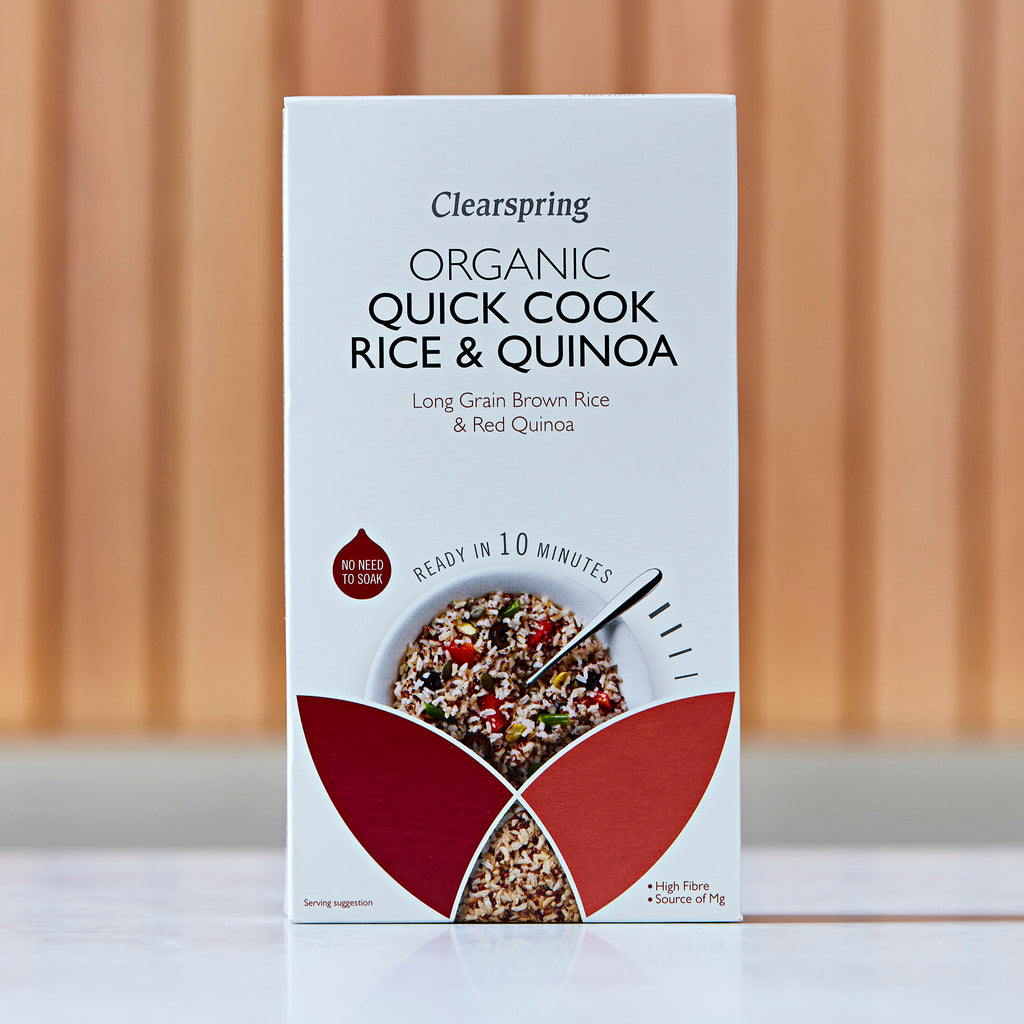 Clearspring Organic Quick Cook Rice & Quinoa, 250g