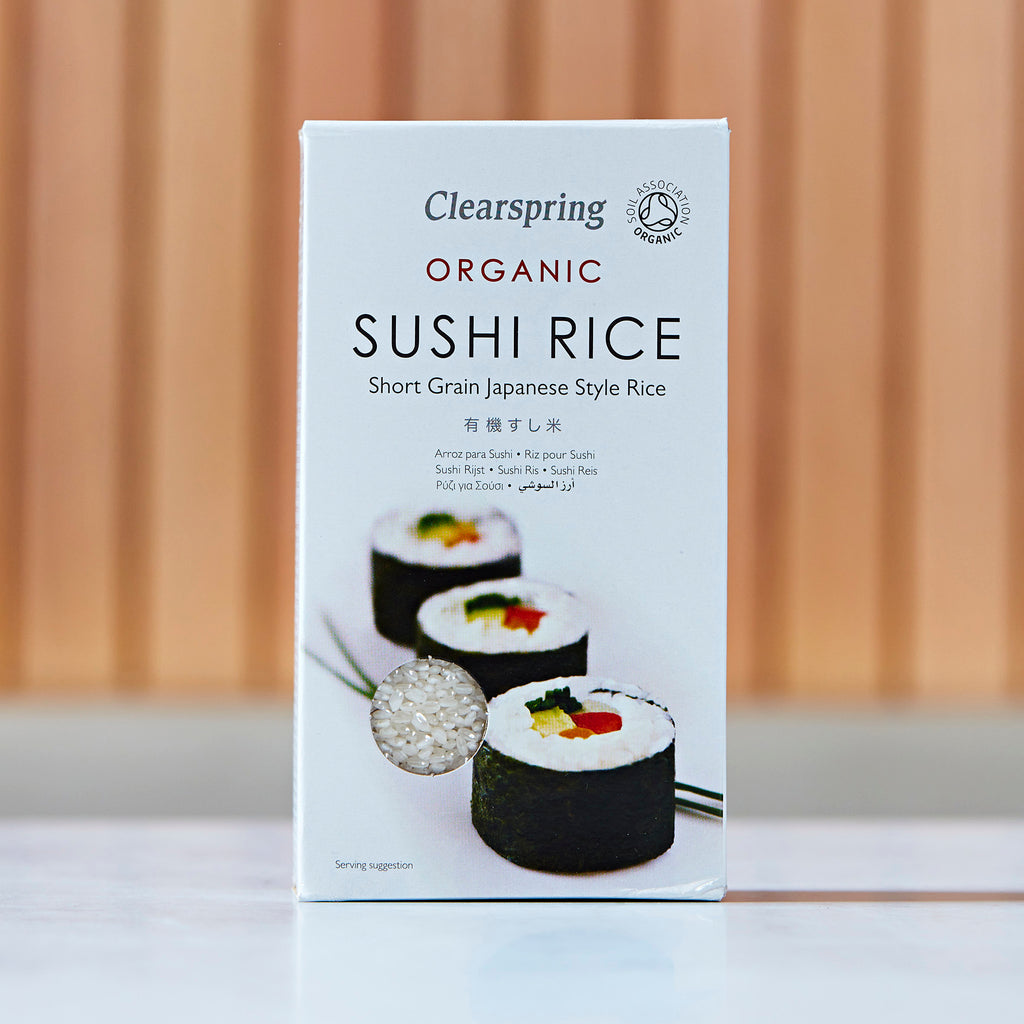 Clearspring Organic Sushi Rice, 500g