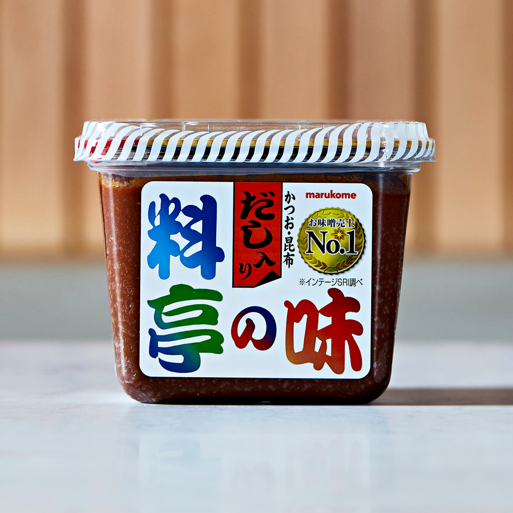 Marukome Reduced Salt Miso With Dashi, 750 G