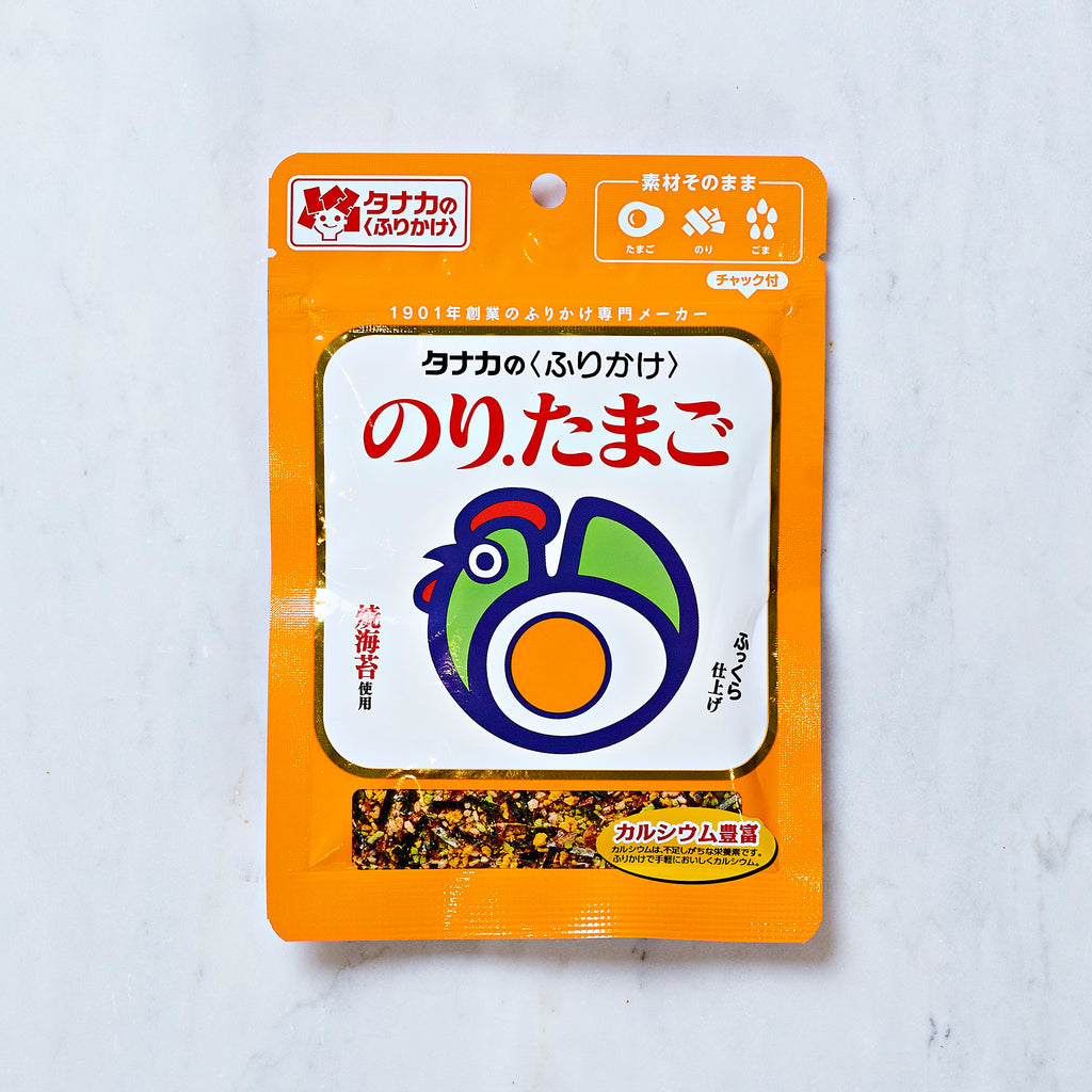 Tanaka Seaweed and Egg Furikake Rice Seasoning, 30 g