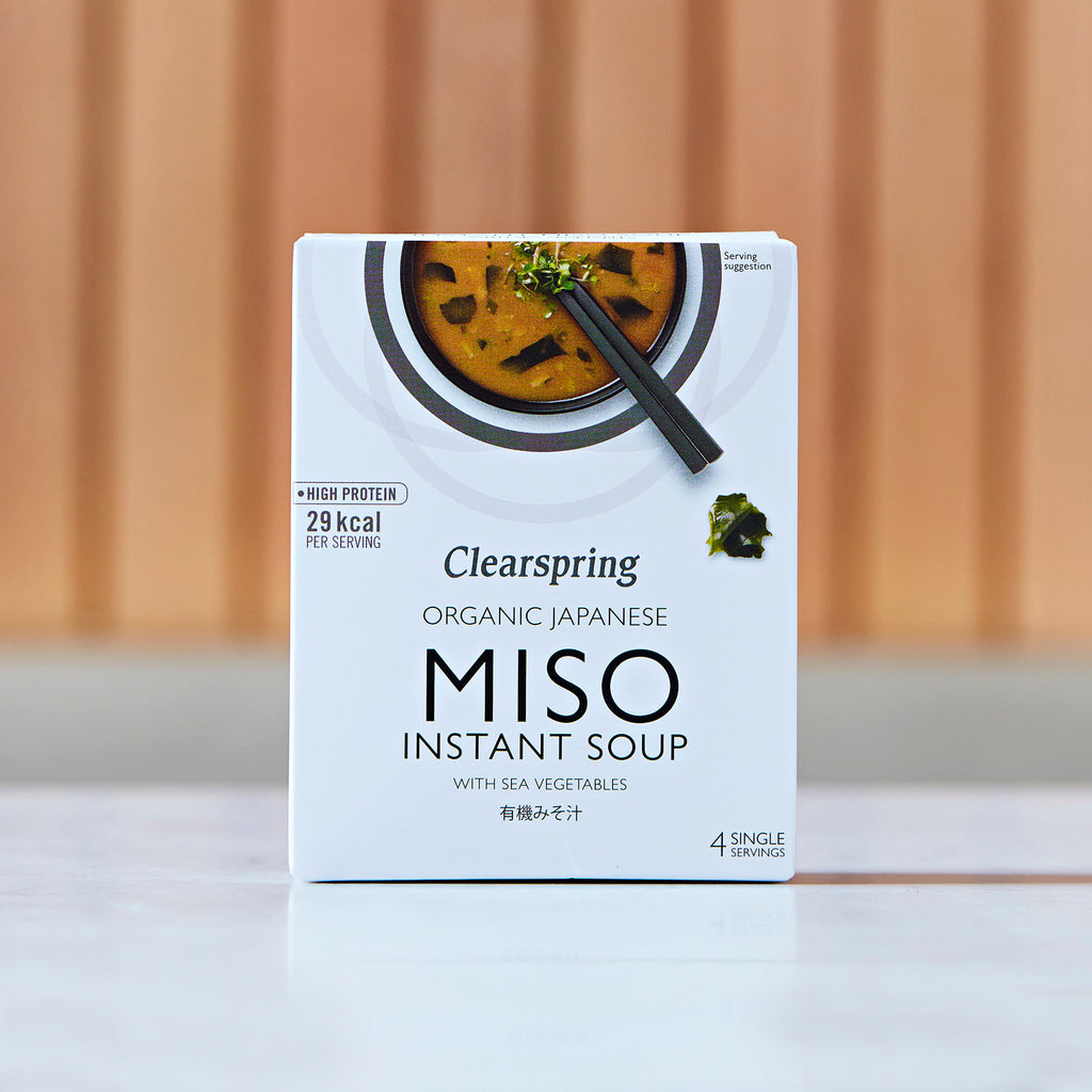 Clearspring Organic Japanese Miso Instant Soup With Sea Vegetables, 40g