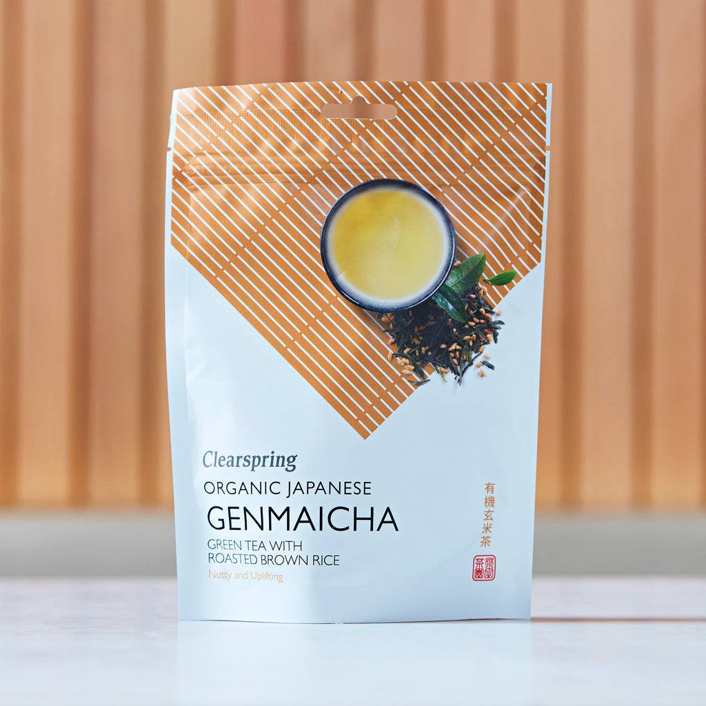 Clearspring Organic Japanese Genmaicha Green Tea With Roasted Brown Rice, 90g