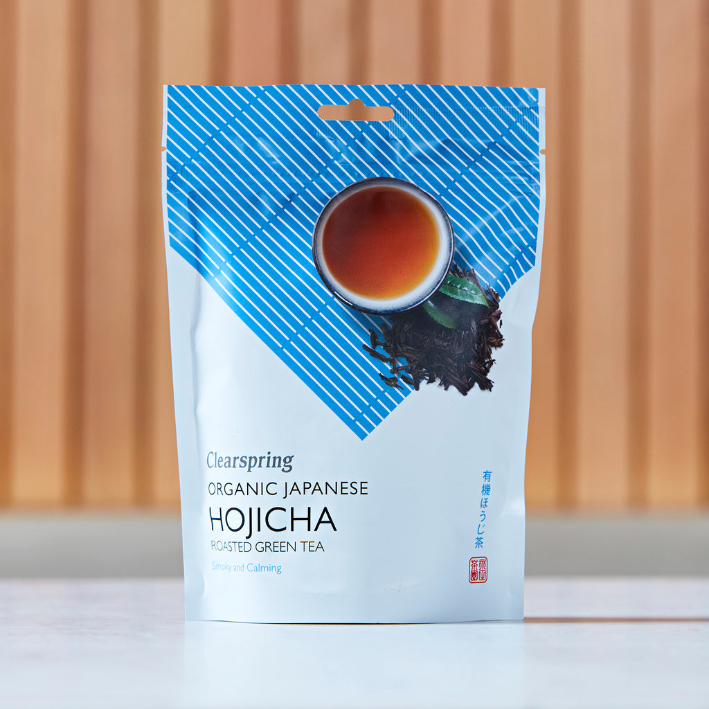 Clearspring Organic Japanese Hojicha Roasted Green Tea, 70g