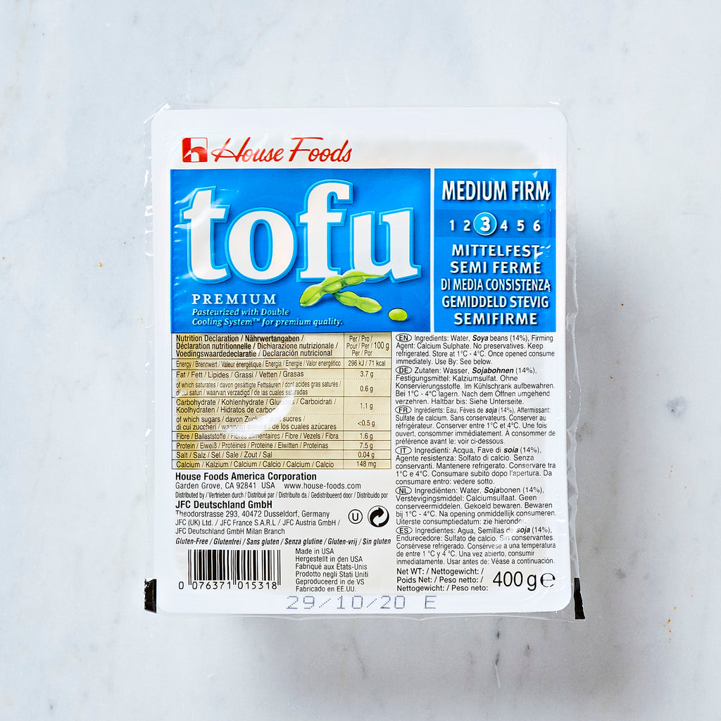 House Medium Firm Premium Tofu, 396 G