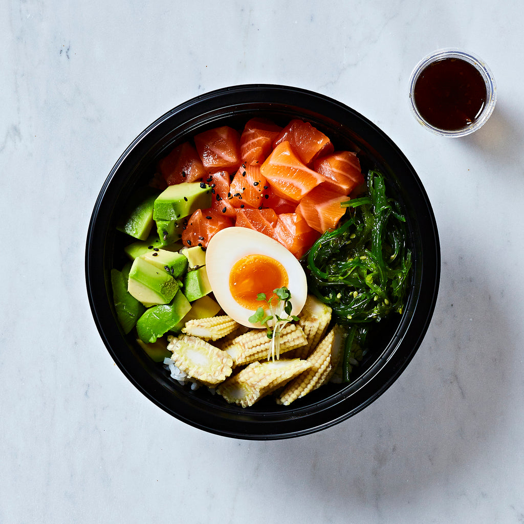Ichiba Kitchen Salmon + Avocado Donburi