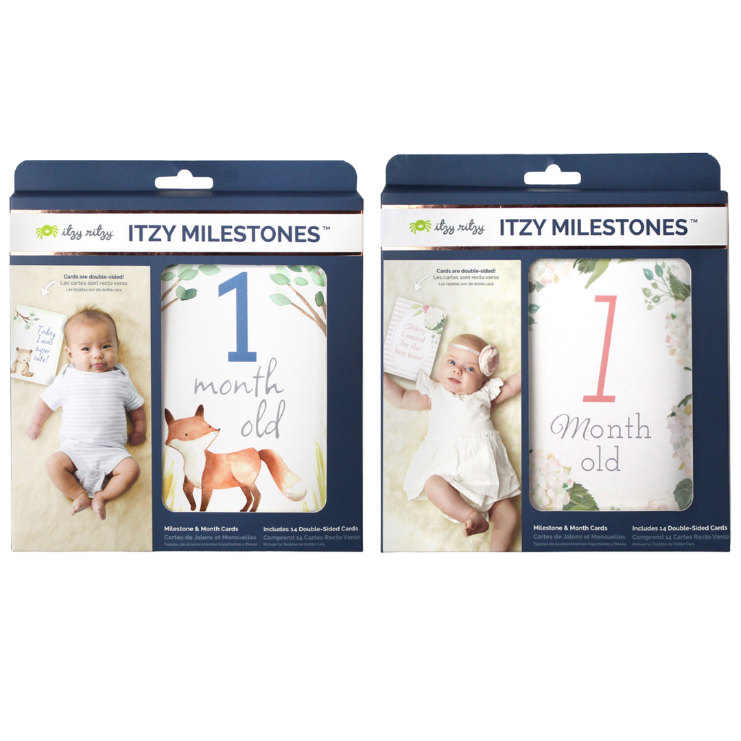 Itzy Moments™ Double-Sided Milestone Cards