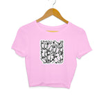 Abstract Art Crop Top