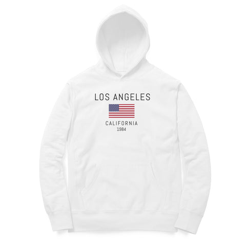 Los Angeles California 1984 Hoodie (Light Shades)