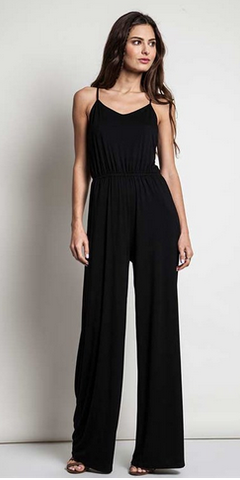 RANDY jumpsuit || jet black