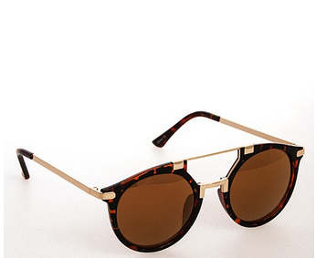 FALCON sunnies in tortoise