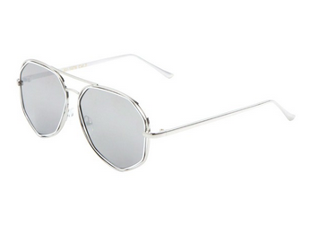 POLYGON sunnies in mirrored silver