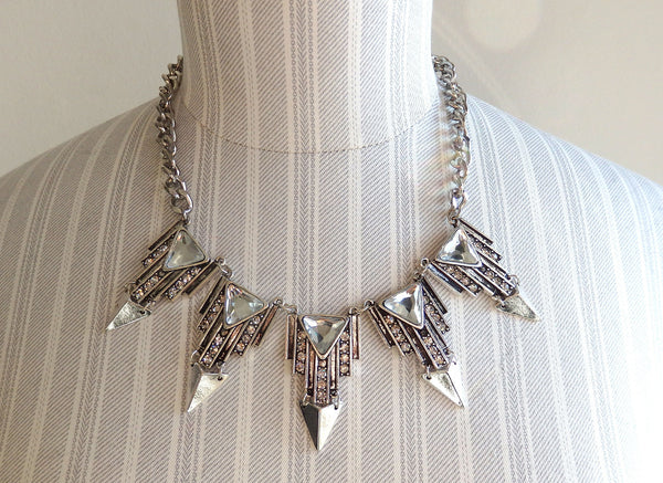 ARGON silver necklace