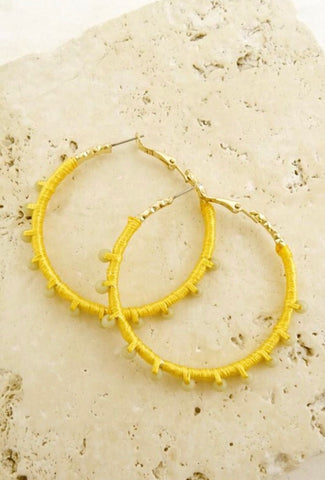 SAMBA hoops || canary yellow
