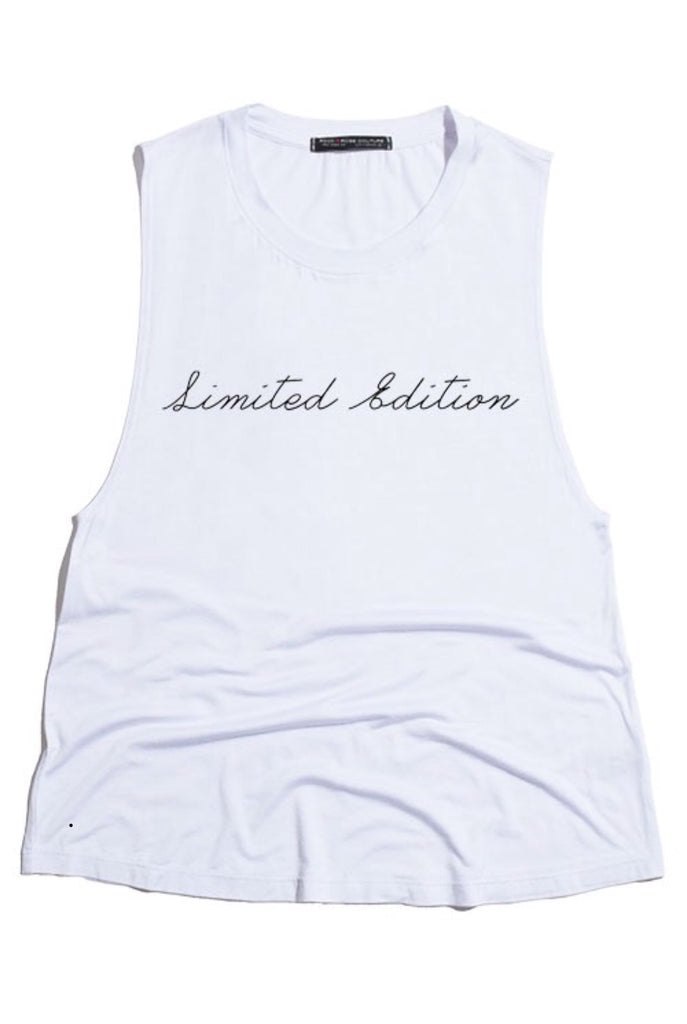LIMITED EDITION tank