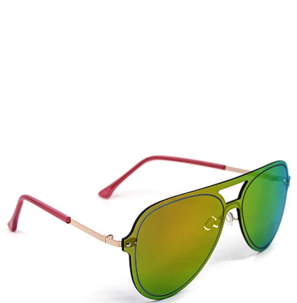 JAX sunnies || green n yellow