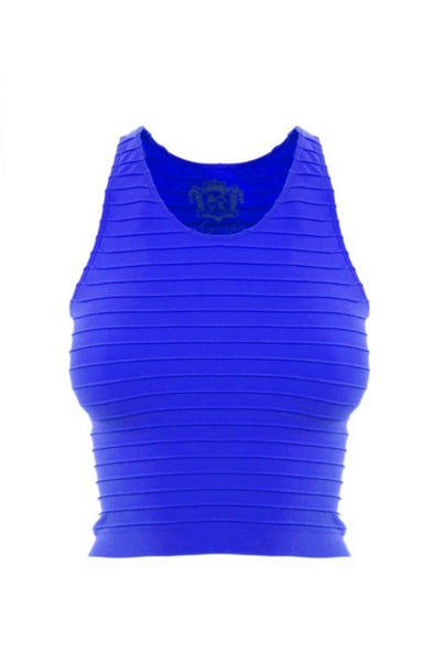 ANDY top || royal blue