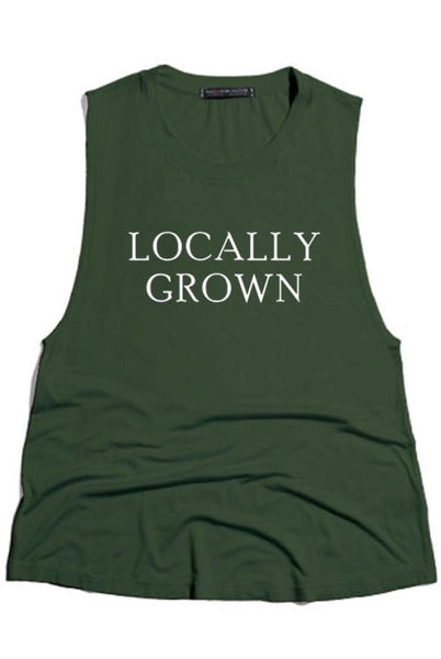 LOCALLY GROWN tank
