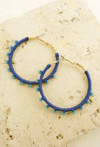 SAMBA hoops || royal blue