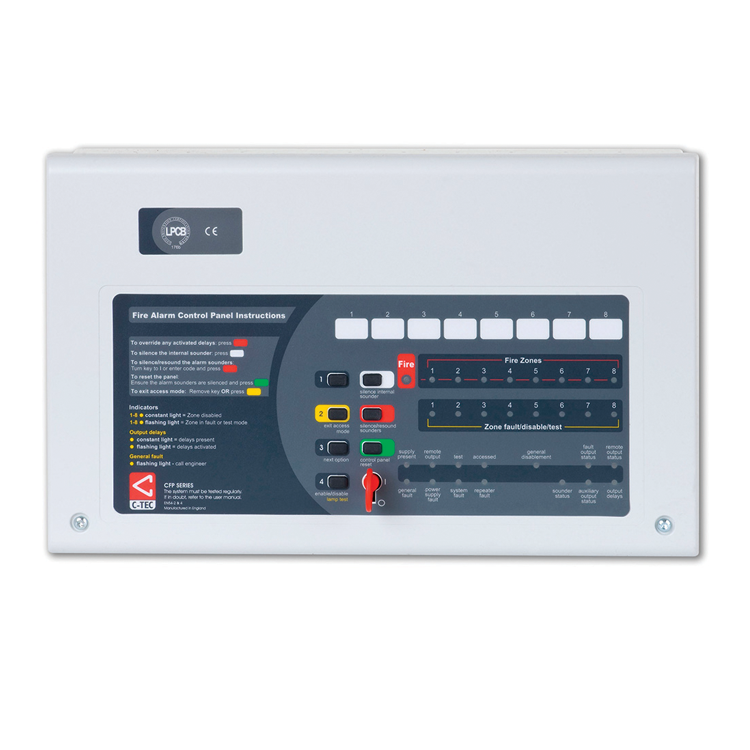 CFP760 8 Zone CFP Fire Alarm Repeater