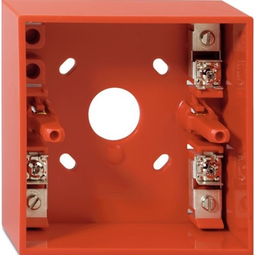 Surface Mounting backbox for Conventional Callpoint RED DMN787