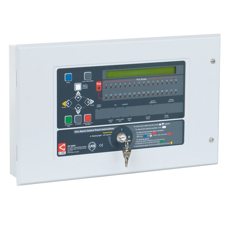 XFP 32 Zone Repeater Panel (all protocols)  Part No. XFP510-32
