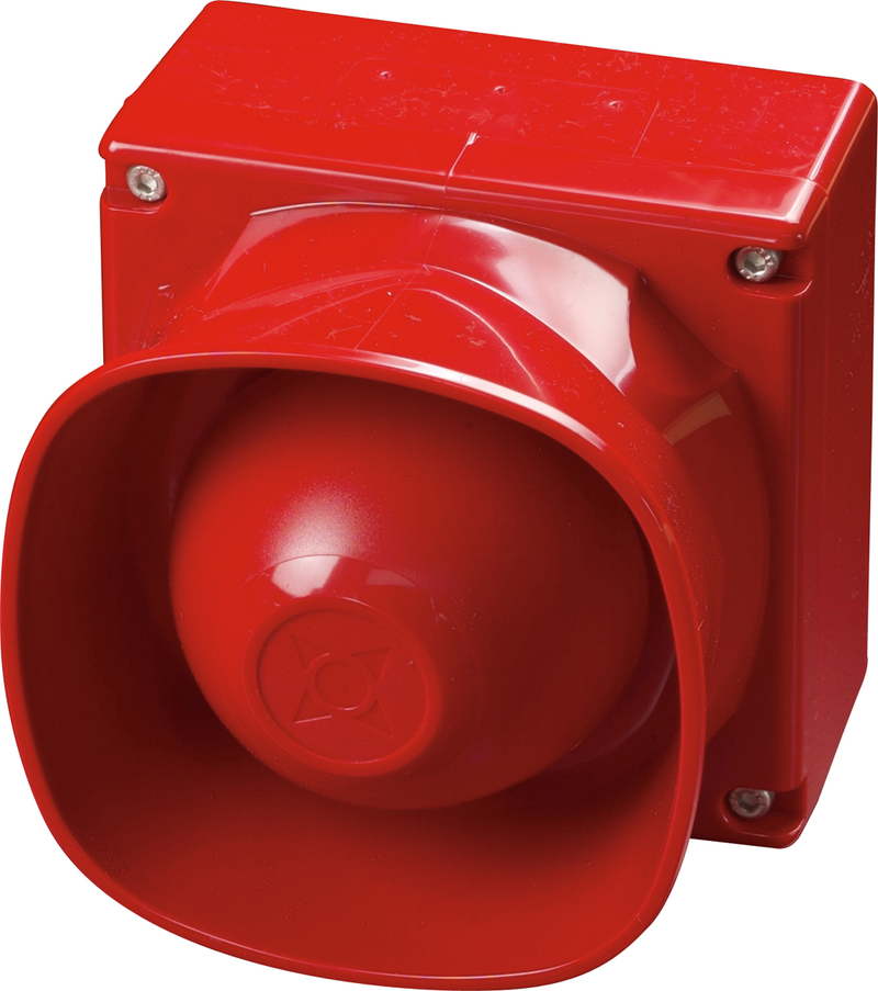 Multi-Tone Weatherproof Open-Area Sounder (Red)  Product code: 55000-274APO