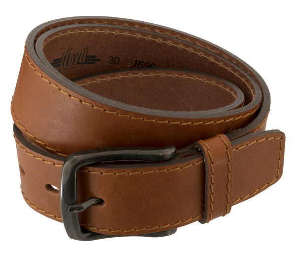 LLOYD Men's Belts − Gürtel - Herrengürtel - Ledergürtel - Brandy