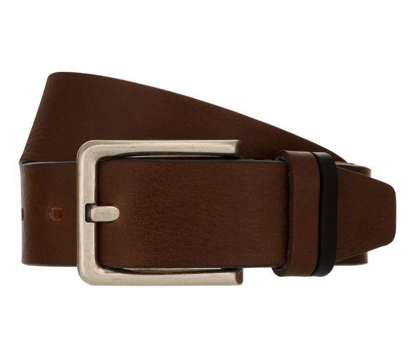 LLOYD Men's Belts − Gürtel - Vollrindleder  - Brandy