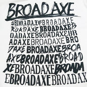 BROAD AXE パーカー 20BAW-4010WH/BK