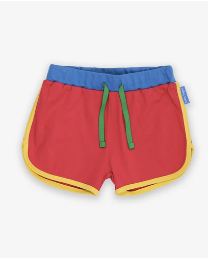 Toby Tiger Organic Red Running Shorts - Baybee Clothes LLC