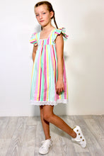 Load image into Gallery viewer, Rainbow Stripe Dress