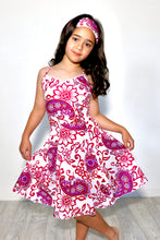 Load image into Gallery viewer, Firefly criss-cross backed dress with matching headband