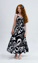 Load image into Gallery viewer, Black Dark Moon Maxi Dress