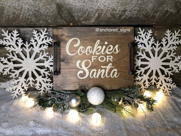 Cookies for Santa Tray