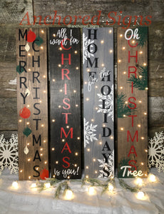 Lighted Christmas Signs