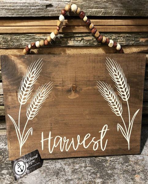 Beaded Harvest Grains