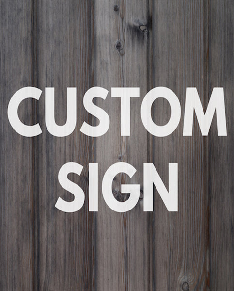 Custom Sign Request