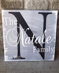 The Classic Mini Family Sign