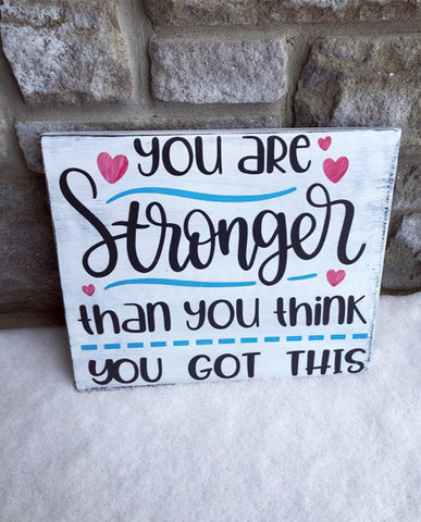 You Are Stronger Than You Think