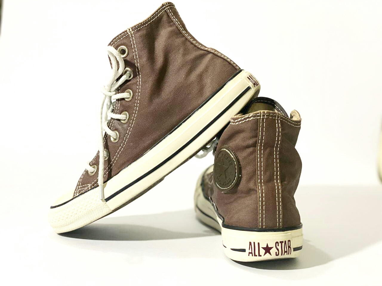 All Star Chuck Taylor Brown, Size Men# 4, women#6, Uk#4 , PAK#36.5